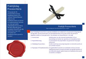 praktijkdagprocescriteria brochure